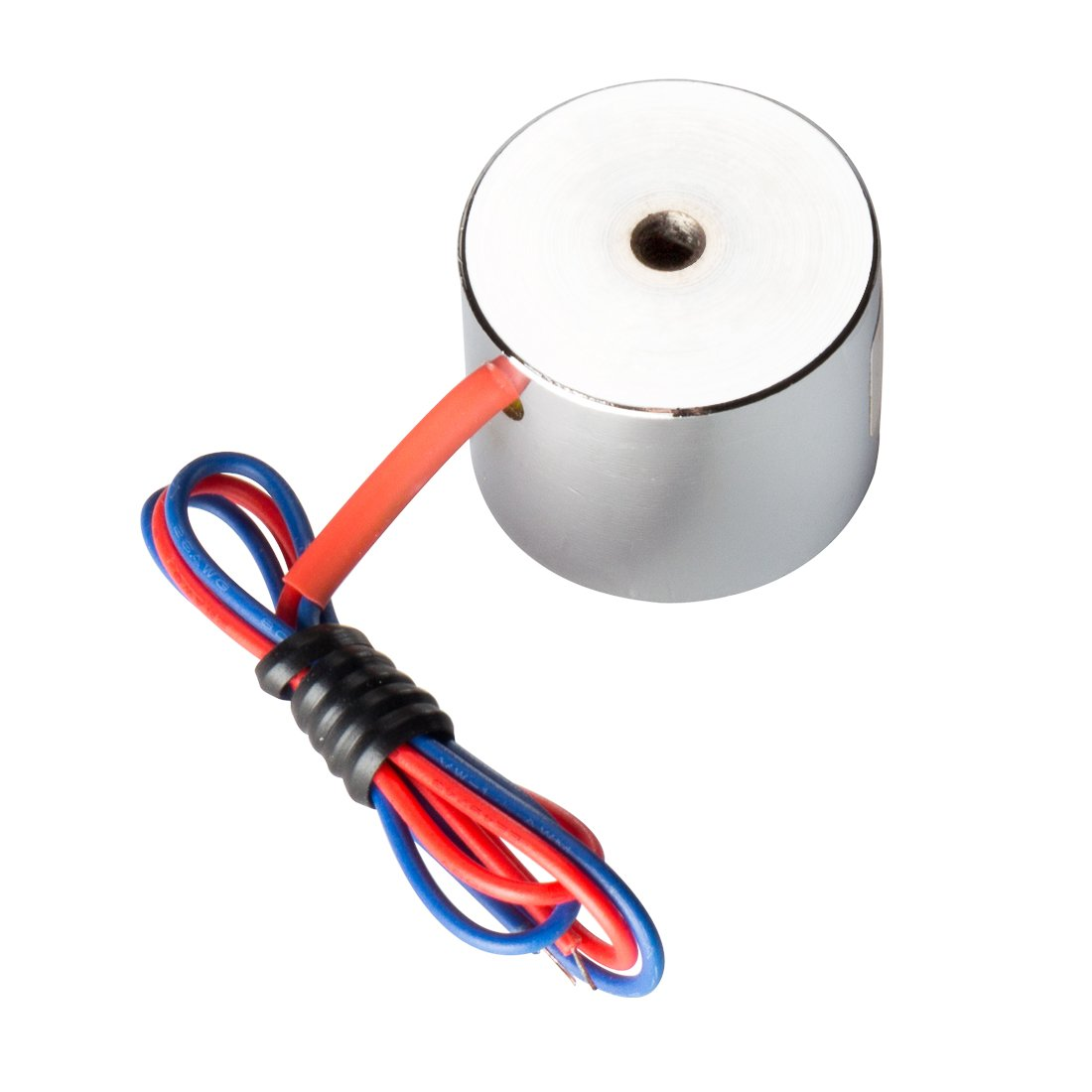 Aexit 5V 50N Lifting Accessories Electric Lifting Magnet Electromagnet Solenoid Lift Magnets Lift Holding
