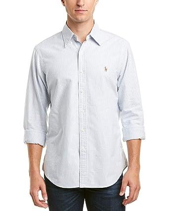 b4f93ba2e Image Unavailable. Image not available for. Color  Ralph Lauren Mens Polo Core  Fit Woven Shirt ...