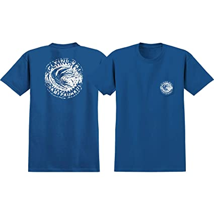 1fff08a4e15f8 Image Unavailable. Image not available for. Color: Anti Hero Skateboards  Flying Rat Royal Blue Short Sleeve Pocket T-Shirts ...