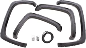Lund RX106S Elite Series Black Rivet Style Standard Front and Rear Fender Flare - 4 Piece