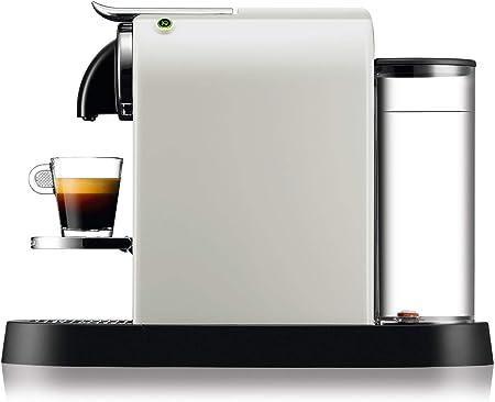Nespresso DeLonghi Citiz EN167.W - Cafetera monodosis de cápsulas Nespresso, compacta, 19 bares, apagado automático ...