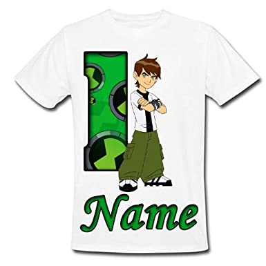 Sprinklecart Special Kids Favourite Cartoon Character Ben 10 Printed Tee For 1st Birthday Your Little