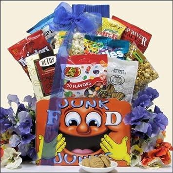 Amazon.com : Back to School: Snacks Gift Basket : Gourmet Snacks ...