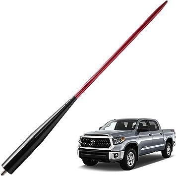 "Jeep Wrangler JK 2007-2014 Black SS Antenna Stubby 15/"" Easy Install Great Look"