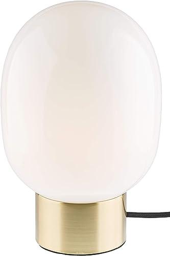 Gadgy ® Lámpara de Mesa Tactil Regulable | Color Latón y Blanco ...