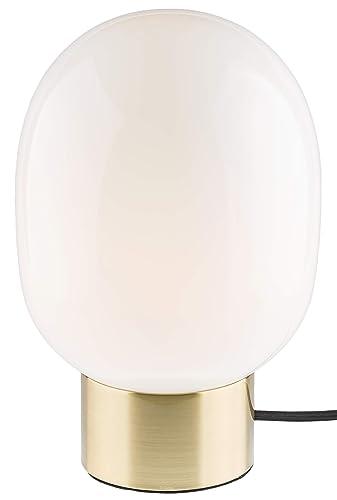 Gadgy ® Lámpara de Mesa Tactil Regulable | Color Latón y ...