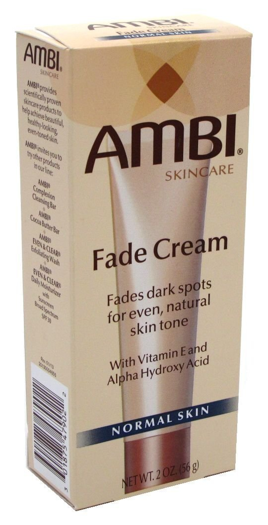 Ambi, Fade Cream for Dark Spots, Normal Skin, 2 Oz - Pack of 2