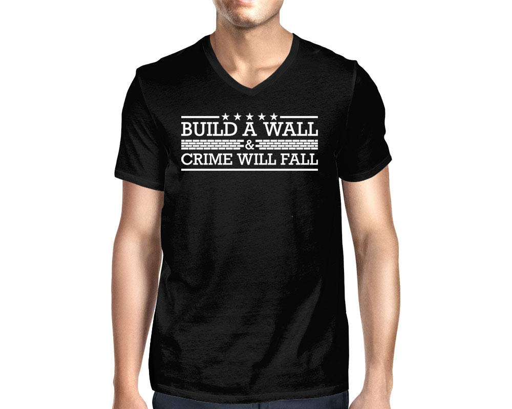 Build A Wall Crime Will Fall T Shirt 1396