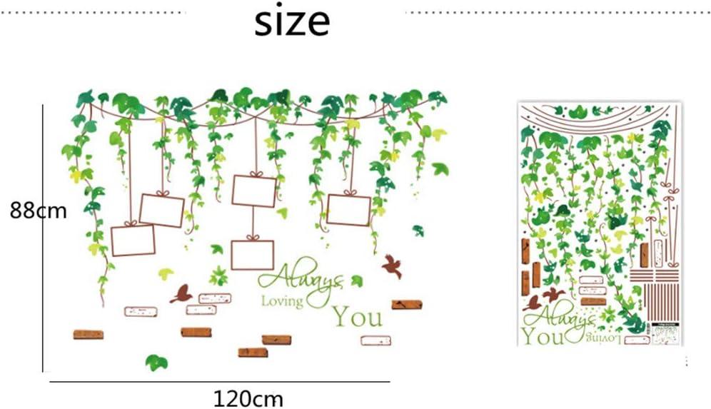 Wandbild: 66x63cm B Deko f/ür Wohn-Schlafzimmer Kinderzimmer K/üche Flur EXQULEG WandSticker, DIY Klebend Blumen set,Wandsticker Blumen