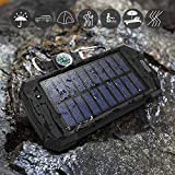 Solar Charger Wireless Power Bank, Portable