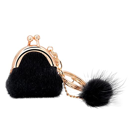 100% Quality Accessories Cute Cartoon Jewelry Gifts Faux Rabbit Fur Car Portable Backpack Pendant Key Chain Women Bag Keyring Fashion Key Rings Automobiles & Motorcycles