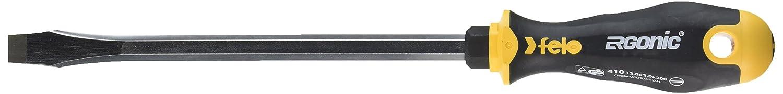 Felo 0715753127 1//2 Series 400 Ergonic Slotted Screwdriver 8