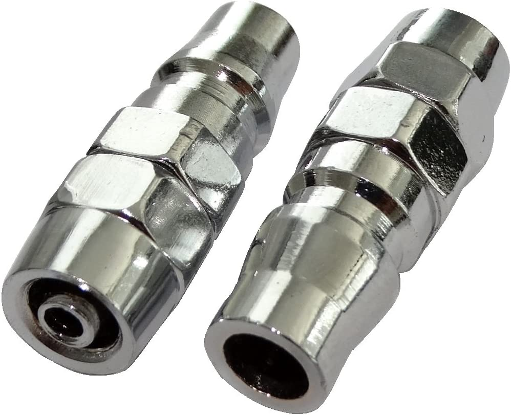 Aerzetix 2x M/ännlich Schnellkupplung Druckluft Kompressor Schlauch C18580