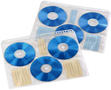 Hama CD-/DVD-/Blu-ray Hüllen 10 Hüllen: Amazon.de: Computer & Zubehör
