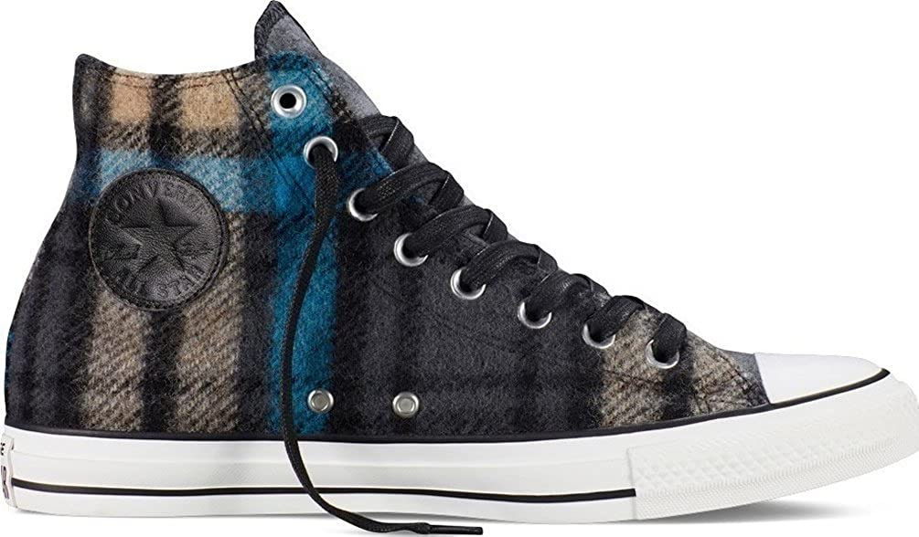 b7d1460f602 Converse Chuck Taylor All Star Woolrich Street Hiker Hi Mens  Fashion-Sneakers C 153836c Dolphin Blac  Buy Online at Low Prices in India  - Amazon.in