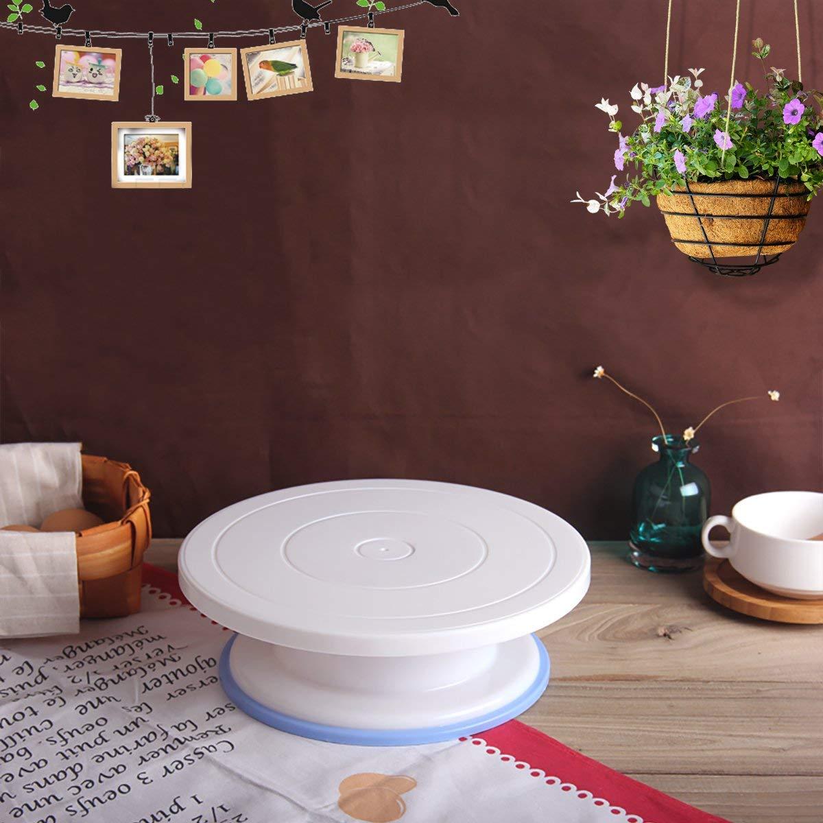 Philonext 10,8 Pulgadas - Base giratoria para Tartas (de plástico, Estilo 1, para decoración)