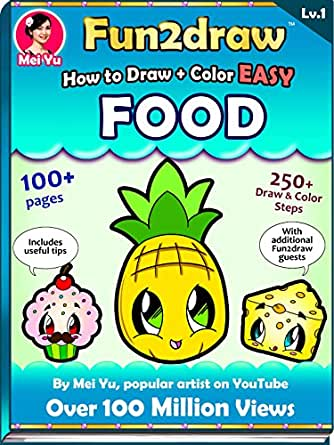 How to Draw + Color Cute Food - Fun2draw Lv. 2 - Kindle ... |Fun2draw Toys
