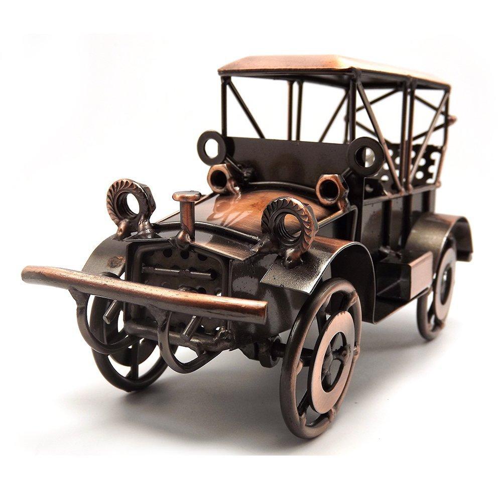 Amazon.com: Tipmant Metal Antique Vintage Car Model Home Décor ...