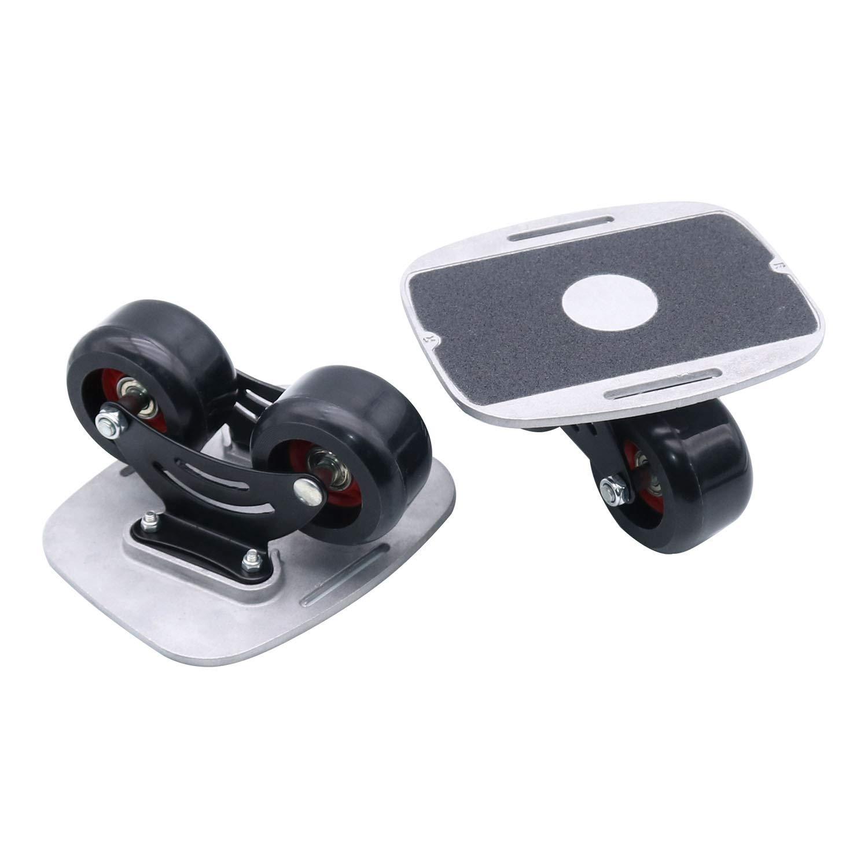 TRENDBOX Drift Board Split Skateboard High-end Bearing Split Skateboard Portable Roller Skateboard Split Skateboard with PU Wheels