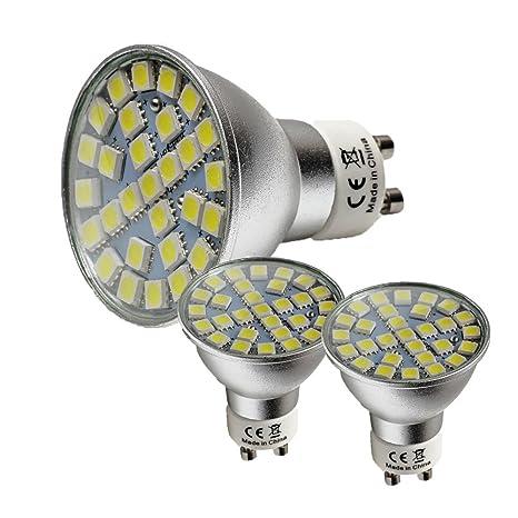 wulun bombilla LED GU10, 5 W, 29 x 5050 SMD LEDs, 50 W