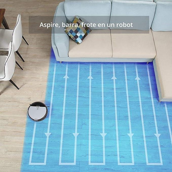 Robot Aspirador ILIFE V8s robot de limpieza de piso de barrido y fregado con tanque de agua, 5 modos de limpieza (Reacondicionado Certificado): Amazon.es: ...