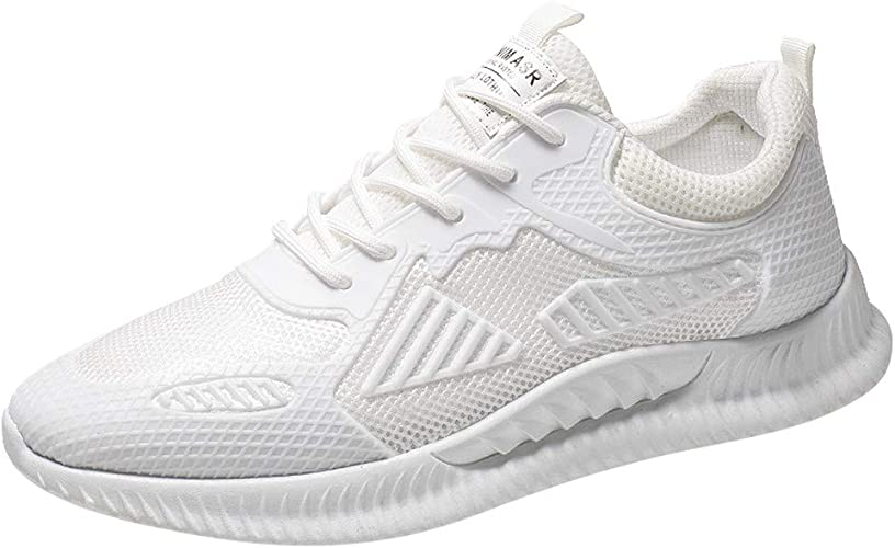 Zapatillas de Running para Hombre Aire Libre y Deporte Transpirables Moda Casual Comodo Zapatos Gimnasio Correr Ligero Sneakers Transpirable Zapatos para Correr vpass: Amazon.es: Zapatos y complementos
