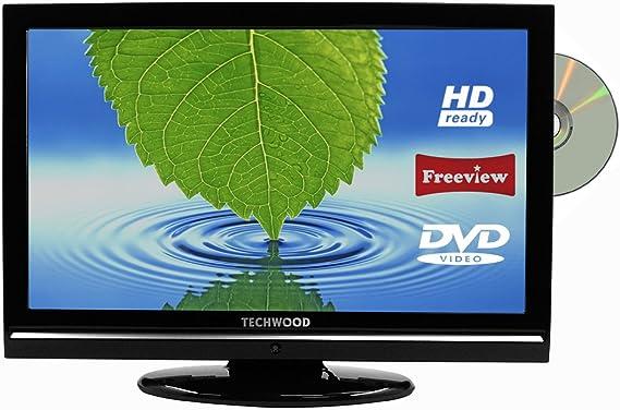 TECHWOOD 22884HDDVD 22-Inch HD Ready LCD TV & DVD Combi with Digital Freeview & HDMI, [Importado de UK]: Amazon.es: Electrónica