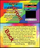 HEAVY CARDSTOCK STRESS CARD  14 point Hi-gloss card stock with UV coating FRONT and BACK, FULL COLOR FRONT AND BACK. Business card size, 3.5 inch x 2 inch inch Full color   Thick UV coated card, Very durable will last for years and years.   Place thu...