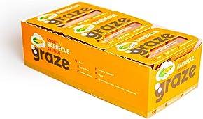 Graze Smoky Barbecue Crunch Savoury Vegetarian Snacks 31 grams (Pack of 9)