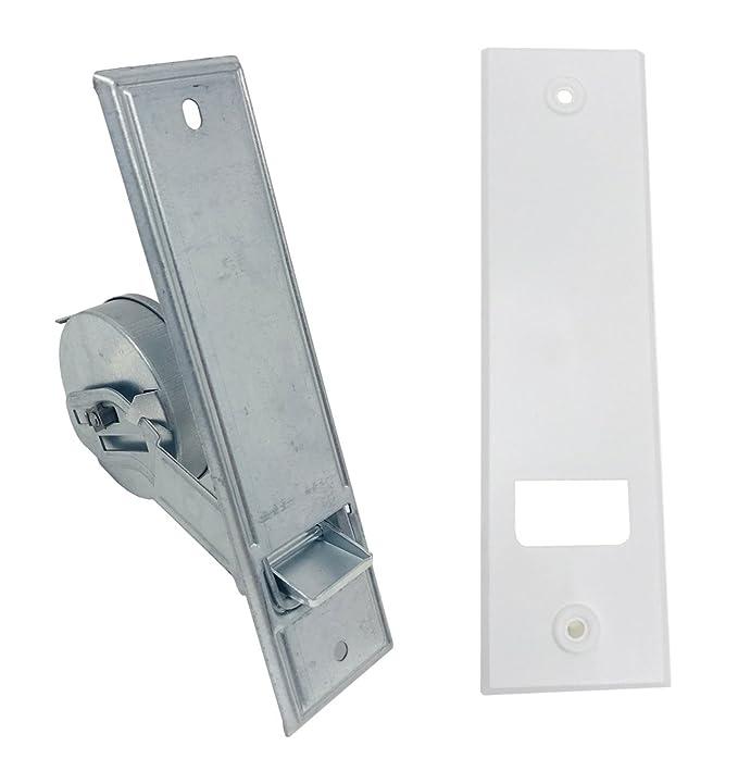 Mecanismo recogedor de persiana de 160 mm con embellecedor de hasta 5 m. Recogedor de 16 cm para cinta de 20-24 cm: Amazon.es: Bricolaje y herramientas