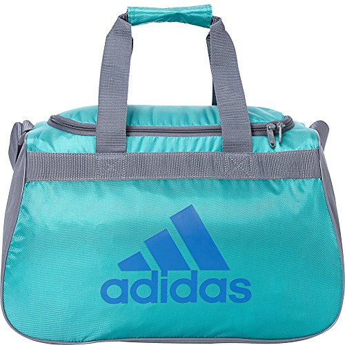 adidas Limited Edition Diablo Small Duffel Gym Bag in Bold Colors - (EQT Green/Onix/EQT Blue)