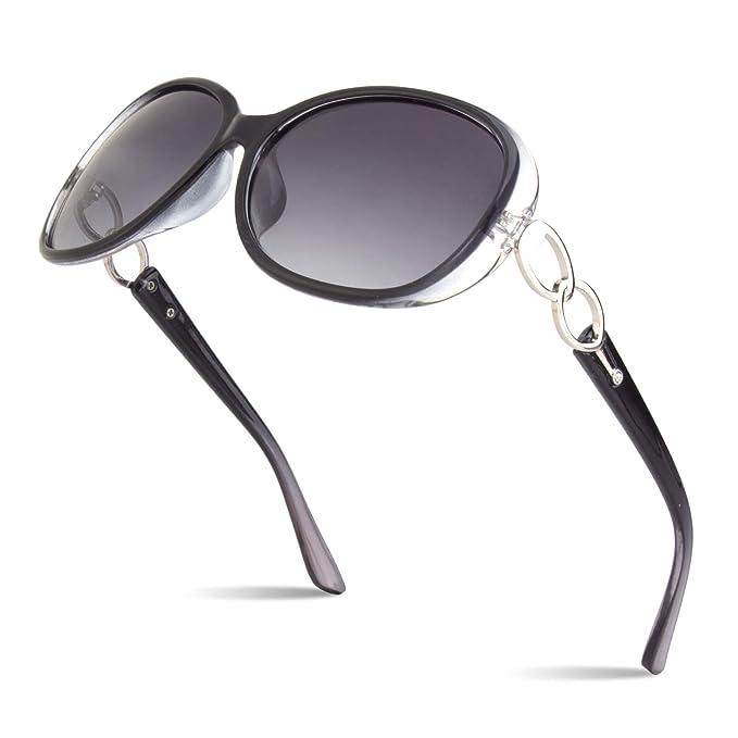 Amazon.com: SUNIER - Gafas de sol polarizadas para mujer ...