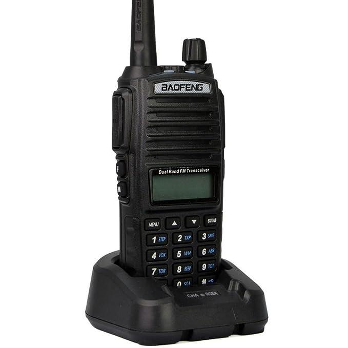 3 opinioni per Radio BAOFENG UV-82 136-174 / 400-520 MHz, nera