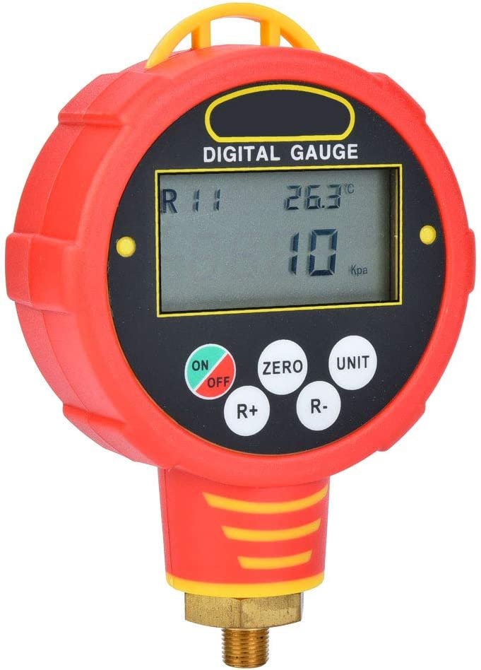 6881L ℉//℃ /±0.5/% Sensor Accuracy for -20℃-60℃ Wk-6881H Romantic GiftDigital Pressure Gauge 82 Refrigerant Pressures Manifolds Refrigeration 6884 6882