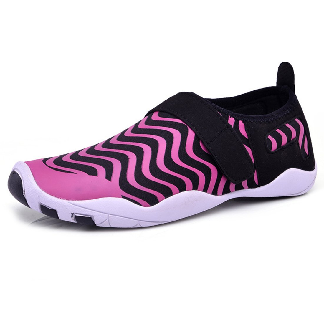 Water Shoes Quick Dry Aqua Shoes Barefoot Shoes for Water Sports Rubber Sole B07DMGGXSJ EU Size 37(US Size Women 6)|Rosy