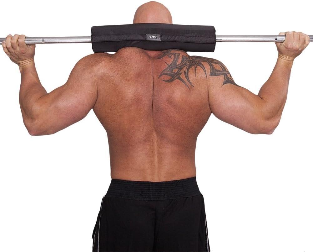 Sports C.P para barras de pesas, extrafuerte Almohadilla protectora para el cuello