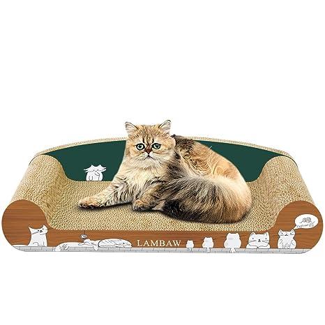 Docamor Rascador para Gatos Tabla de Rascar para Gatos Cama Rascador rascador de Gato para Cama
