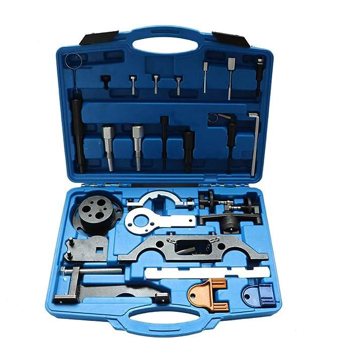 YIYIBYJuego de Herramientas de Ajuste de Motor, Cadena de distribución para Opel Vectra Astra Corsa Petrol Engine Timing Belt Tool Kit: Amazon.es: Coche y ...