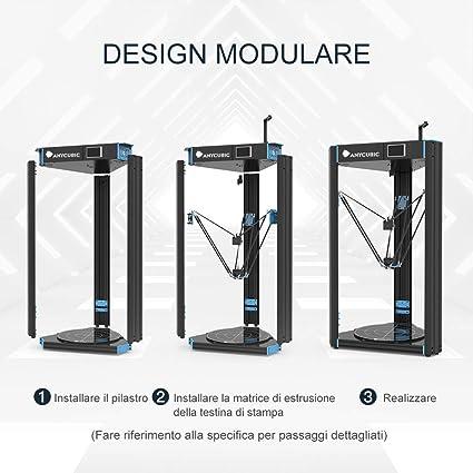 Impresora 3D Anycubic D Predator impresión de grandes dimensiones ...
