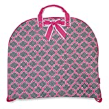 quilted fabric bags - Ever Moda Moroccan Quilted Garment Hanging Bag