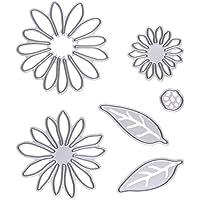Demiawaking, stencil, fustelle, stampi, per album di ritagli, cartoline, modelli di fabbricazione artigianale e fai da te in 13 stili diversi