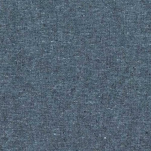 Robert Kaufman Kaufman Essex Yarn Dyed Linen Blend Nautical Fabric by The Yard, Nautical