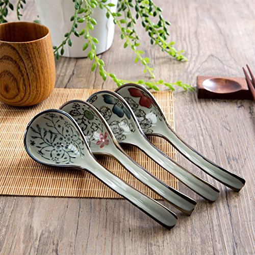 XDOBO Long handle Hook Spoon Soup Spoon Hand-crafted Tableware by xdobo (Image #6)
