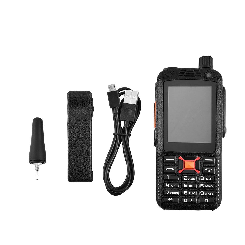 Touch Screen 3500mAh Two Way Handheld Radio Rugged Android WiFi Bluetooth Walkie Phone fosa Smart 2G//3G//Dual SIM Walkie Talkie Mobile Phone