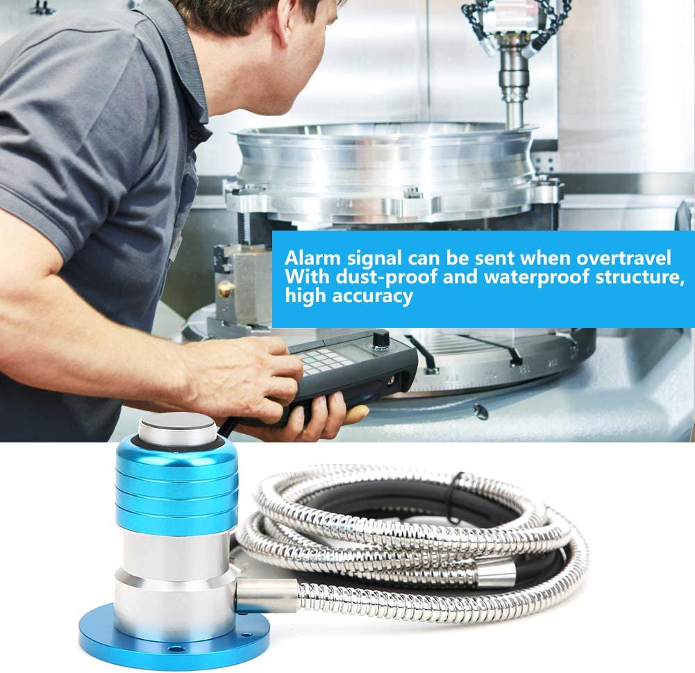 Calibro di impostazione strumento automatico Parti di macchine per incisione CNC con asse Z a 4 linee ad alta precisione Strumento calibro di impostazione