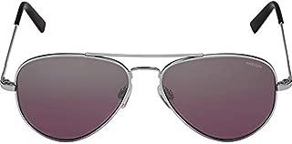 product image for Randolph Concorde Infinity Sunglasses Bright Chrome/Skull/Midnight Metallic 57mm