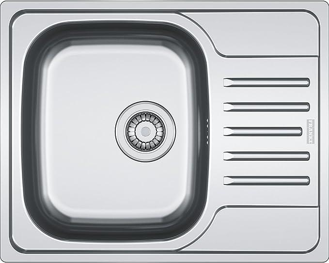 Franke fregadero Polar pxn 611 – 60 de seda Acero Inoxidable Brillo, 1 pieza, 101.0251.239: Amazon.es: Bricolaje y herramientas