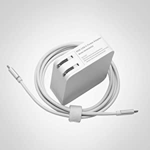 65w Type USB C Power Adapter Charger for MacBook pro,ipad,Lenovo Yoga 910; Huawei Matebook X Pro;Xiaomi Remibook, Realme X50 Pro,ThinkPad T480 P52S with USB-C to USB-C Cable