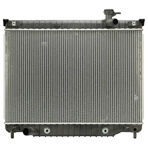 Klimoto Brand New Radiator For Trailblazer Envoy Isuzu Ascender Buick 4.2 L6