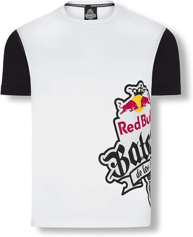 Red Bull Batalla Sideprint Camiseta, Blanco Hombre X-Large Top ...